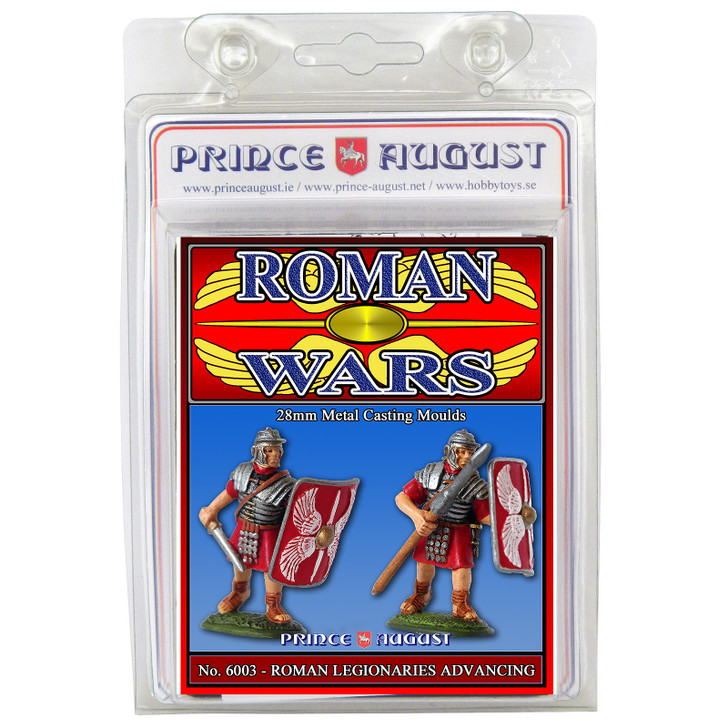 Roman Wars - Legionaries Advancing Moulds
