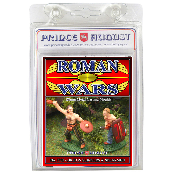 PA7003 Roman Wars - Briton Slingers and Spearmen mould