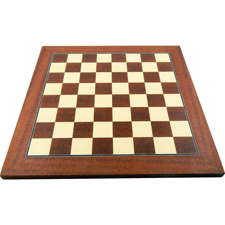 Chess board Mahogny & Maple 35