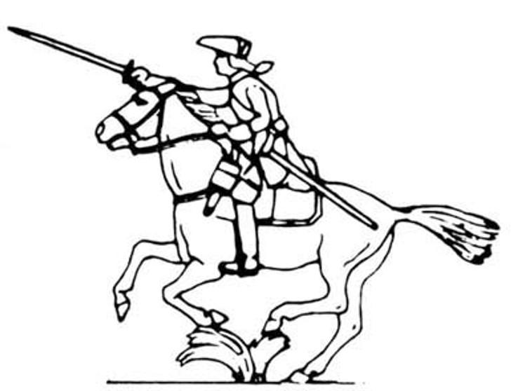 18th Century Cavalry Man