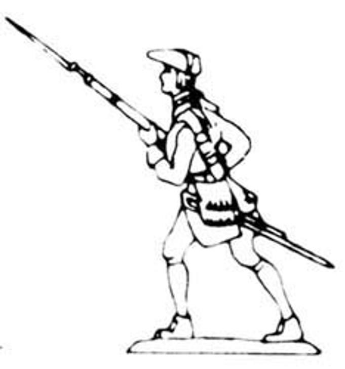 18th Century Musketeer standing