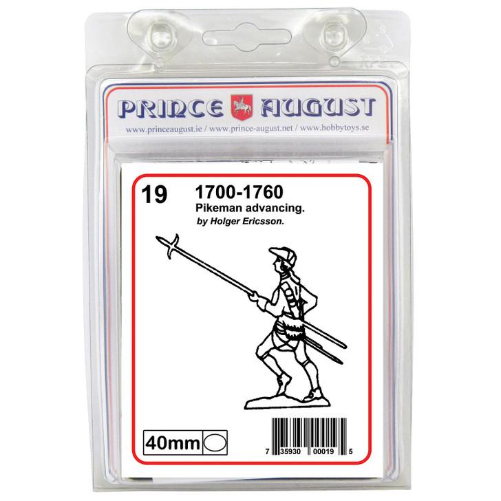 PA19 18th Century Pikeman advancing blister