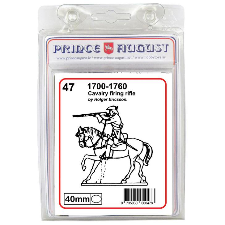 18th Century Cavalry firing rifle blister