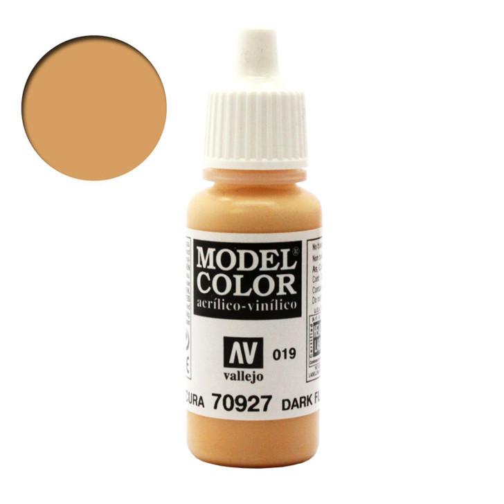Dark Flesh Vallejo Model Color Acrylic Paint 70927
