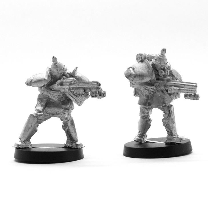 Ducal Militia 2 figures