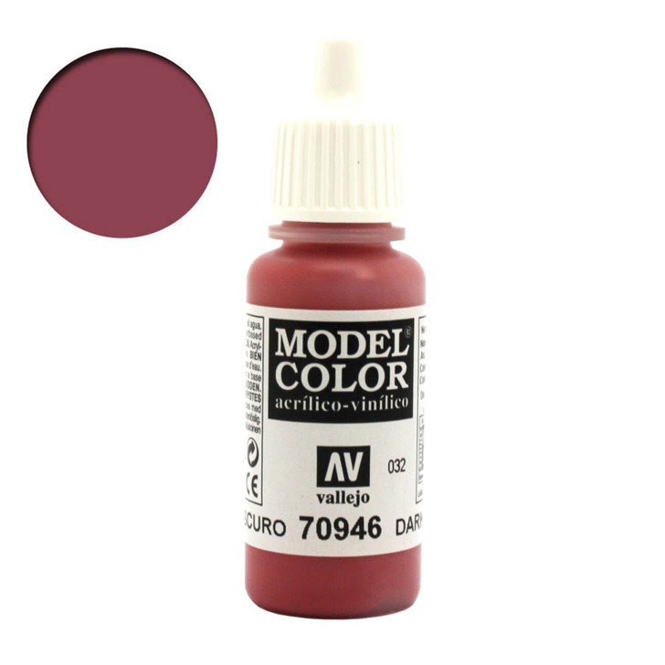 Dark Red Model Color Acrylic Paint 70946