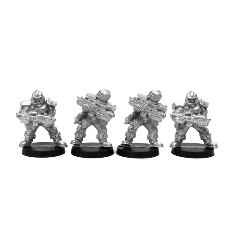 Capitol Airbourne Rangers 4 figures