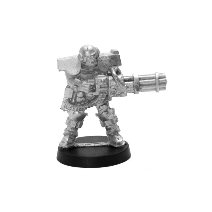 Capitol Heavy Infantry HMG Specialist