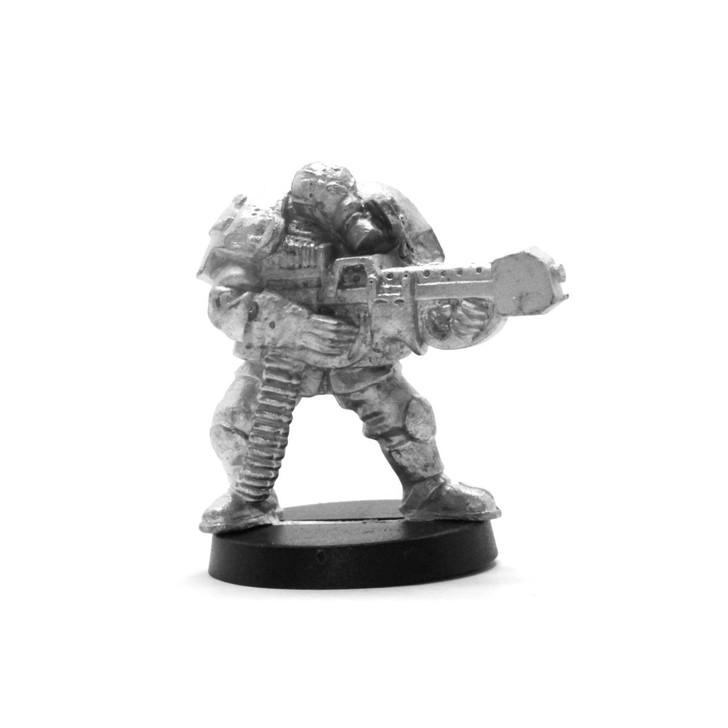 Cybertronic Shock Trooper LMG Weapon
