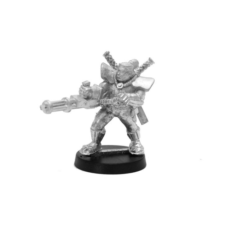 Mishima Samurai with Heavy Weapon - 1 figure