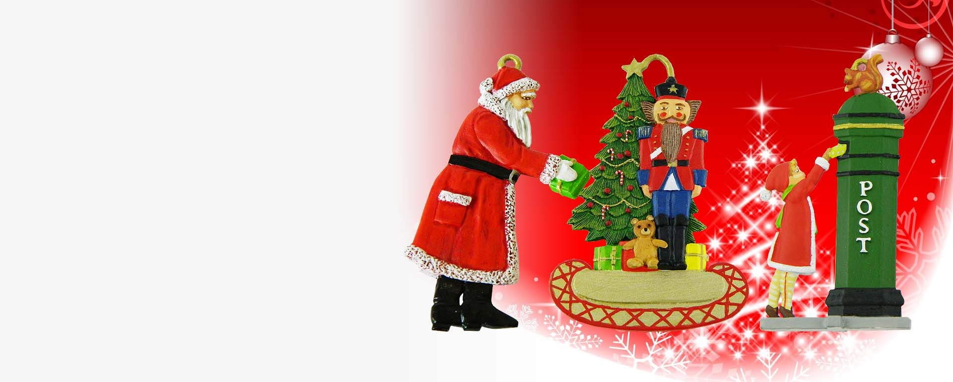 Christmas Sale - 25% off Christmas decorations and Nativity moulds.