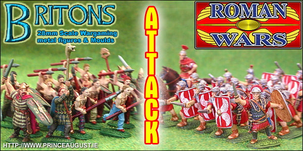 Roman Wars Series of Roman Armies and Ancient Celtic Briton Tribes