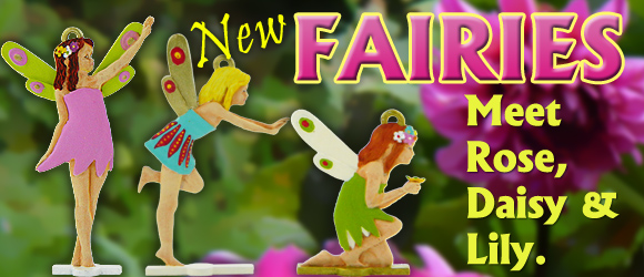New Fairies moulds in September 2018