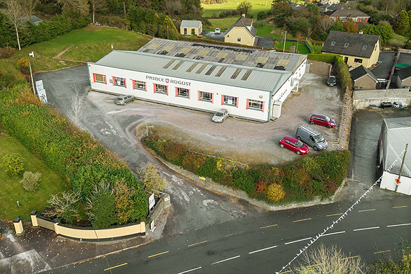The Toy Soldier Factory in Kilnamartyra, Co. Cork, Ireland.