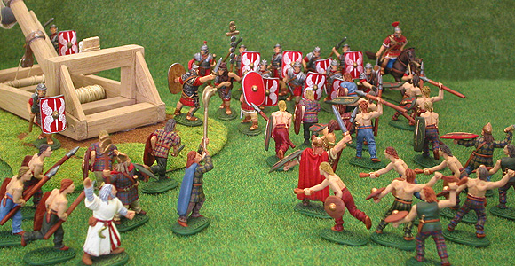 28mm scale Roman and Briton moulds.