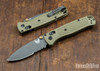 Benchmade Knives: 535SGRY-1 Bugout - AXIS Lock - Ranger Green - Serrations - Gray Coated CPM-S30V