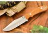 Hyken Knives: Harpoon CPM-154 - Natural Canvas Micarta