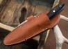 True Saber Knives: Delaware - Blue & Black G-10