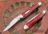Great Eastern Cutlery: #38 Special - Red Linen Micarta