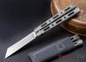 Benchmade Knives: 87 Bali-song - Titanium - Wharncliffe