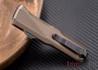 Benchmade Knives: 4600DLC-1 Phaeton - OTF Auto - Dark Earth Anodized - DLC Coating