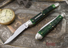 Great Eastern Cutlery: #38 Special - Tractor Green Jigged Bone