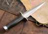 Randall Made Knives: Model 13-6 Small Arkansas Toothpick - Black Micarta - 120914