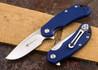 Steel Will Knives: Cutjack Mini - Blue FRN - D2 Steel