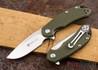 Steel Will Knives: Cutjack Mini - Green FRN - D2 Steel