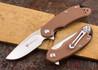 Steel Will Knives: Cutjack Mini - Tan FRN - D2 Steel