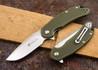 Steel Will Knives: Cutjack - OD Green FRN - D2 Steel
