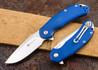 Steel Will Knives: Cutjack - Blue G-10 - M390 Steel