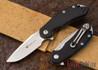 Steel Will Knives: Cutjack Mini - Black G-10 - M390 Steel
