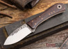 Fiddleback Forge: EDC II - Rosewood - Natural / White Liners - 031413