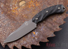 Southern Grind: Jackal - Gunmetal Blade - Black G-10 - Black Kydex Sheath