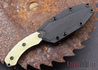 Southern Grind: Jackal - Black Blade - Jade Ghost Green G-10 - Black Kydex Sheath
