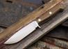 Hess Knifeworks: Outdoorsman - Brown Micarta