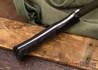 Fiddleback Forge: Camp Muk - Oreo Burlap - Black Bolster - FF13DD014