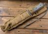 "Chris Reeve Knives: Green Beret - 5.5"" - Flat Dark Earth KG Gun Kote - Serrations"