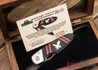 Bear & Son Cutlery: David Yellowhorse Custom - Sacred Eagle LinerLock Serial #017