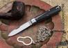Great Eastern Cutlery: #15 Tidioute - Huckleberry Boy's Knife - Gabon Ebony - Bail & Chain