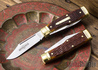 Great Eastern Cutlery: #44 Northfield UN-X-LD - Buffalo Jack - Autumn Gold Jigged Bone - Brass