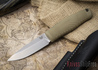 Benchmade Knives: 200 Puukko - CPM 3V Fixed Blade - Textured Ranger Green Handle