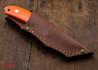 Casstrom: Safari - Hollow Ground Blade - Orange G-10