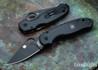Spyderco: Para 3 Lightweight - Black Blade - Black FRN - CTS-BD1N - C223PBBK