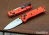 Benchmade Knives: 533 Mini Bugout - Orange Grivory - AXIS Lock - CPM S30V