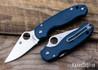 Spyderco: Para 3 Lightweight - Cobalt Blue FRN - CPM SPY27 - C223PCBL