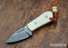 Joe Loui Knives: Chico #036 - Jade G-10 - Orange Liners