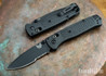 Benchmade Knives: 535SBK-2 Bugout - Graphite Black CF-Elite Scales - AXIS Lock - Serrated - CPM-S30V