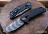 Zero Tolerance: 0308BLKTS - Black G-10 - KVT Bearing Flipper - CPM-20CV - Tigerstripe Black-Oxide Finish